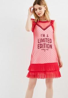 Платье, Patrizia Pepe, цвет: розовый. Артикул: PA748EWYLJ52. Premium / Одежда / Платья и сарафаны