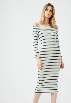 Платье, Patrizia Pepe, цвет: белый. Артикул: PA748EWYLL47. Premium / Одежда / Платья и сарафаны