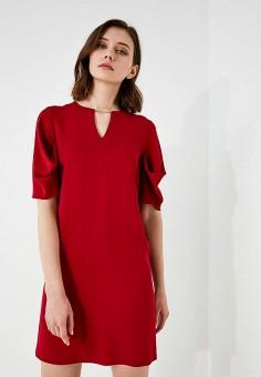 Платье, Pennyblack, цвет: красный. Артикул: PE003EWAEED0. Premium / Одежда / Платья и сарафаны