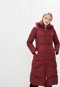 Пуховик, Pennyblack, цвет: бордовый. Артикул: PE003EWBXRG9. Premium / Одежда / Верхняя одежда / Зимние куртки