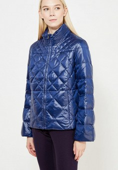 Пуховик, Pennyblack, цвет: синий. Артикул: PE003EWTCJ37. Одежда / Верхняя одежда / Пуховики и зимние куртки