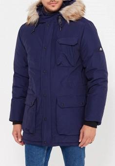 Куртка утепленная, Penfield, цвет: синий. Артикул: PE018EMXUF34. Одежда / Верхняя одежда / Пуховики и зимние куртки
