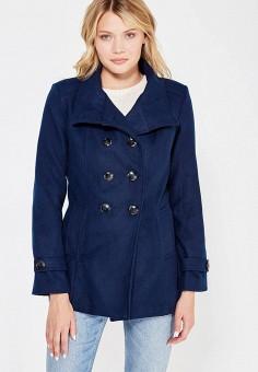 Полупальто, Perfect J, цвет: синий. Артикул: PE033EWWEV92. Одежда / Верхняя одежда / Пальто