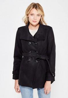 Полупальто, Perfect J, цвет: черный. Артикул: PE033EWWEV94. Одежда / Верхняя одежда / Пальто