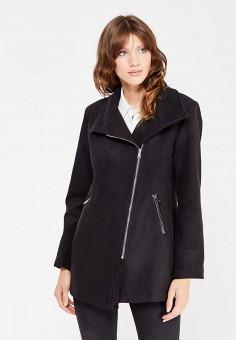 Полупальто, Perfect J, цвет: черный. Артикул: PE033EWWEW11. Одежда / Верхняя одежда / Пальто
