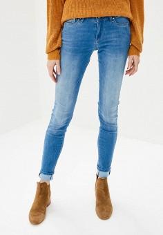 Джинсы, Pepe Jeans, цвет: голубой. Артикул: PE299EWBNTU1. Одежда / Джинсы