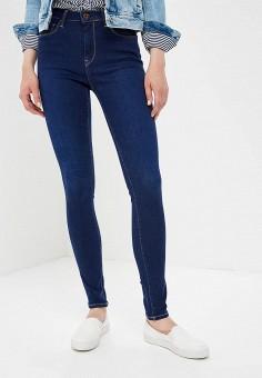 Джинсы, Pepe Jeans, цвет: синий. Артикул: PE299EWBNTU8. Одежда / Джинсы