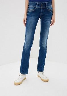 Джинсы, Pepe Jeans, цвет: синий. Артикул: PE299EWPUP14. Одежда / Джинсы