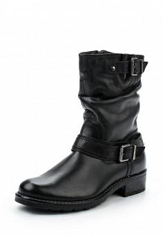 Полусапоги, Pier One, цвет: черный. Артикул: PI021AWUYI69. Обувь / Сапоги