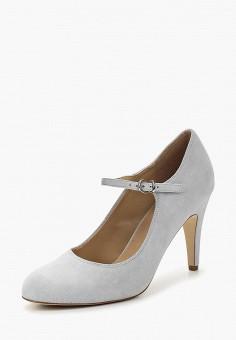 Туфли, Pier One, цвет: голубой. Артикул: PI021AWZXL70. Обувь / Туфли / Закрытые туфли