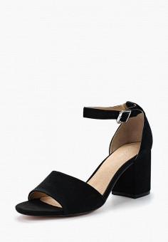 Босоножки, Pier One, цвет: черный. Артикул: PI021AWZYL29. Обувь / Босоножки