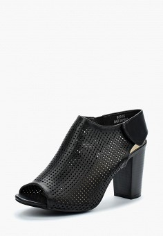 Босоножки, Piazza Italia, цвет: черный. Артикул: PI022AWAXWH3. Обувь / Босоножки