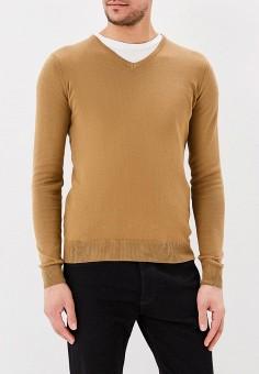 Пуловер, Piazza Italia, цвет: коричневый. Артикул: PI022EMAXPW7. Одежда / Джемперы, свитеры и кардиганы