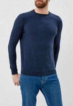 Джемпер, Piazza Italia, цвет: синий. Артикул: PI022EMAXPX6. Одежда / Джемперы, свитеры и кардиганы