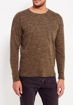 Джемпер, Piazza Italia, цвет: коричневый. Артикул: PI022EMXLM31. Одежда / Джемперы, свитеры и кардиганы