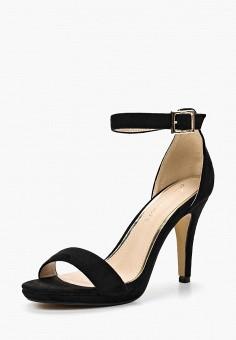 Босоножки, Pinkdesert, цвет: черный. Артикул: PI027AWBOUM2. Обувь