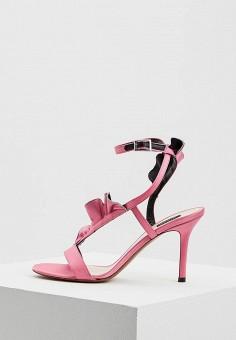 Босоножки, Pinko, цвет: розовый. Артикул: PI754AWYXA43. Premium / Обувь / Босоножки