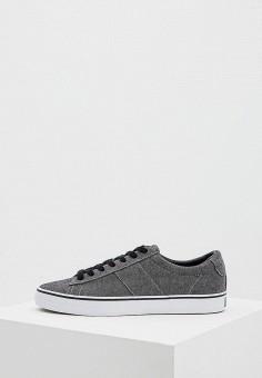Кеды, Polo Ralph Lauren, цвет: серый. Артикул: PO006AMASYM5. Обувь / Кроссовки и кеды / Кеды