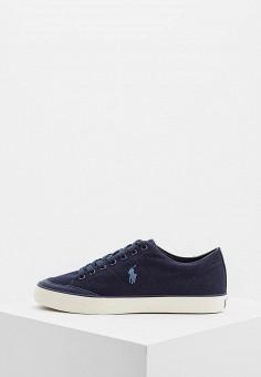 Кеды, Polo Ralph Lauren, цвет: синий. Артикул: PO006AMBXEC4. Обувь / Кроссовки и кеды / Кеды