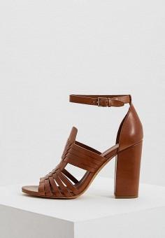 Босоножки, Polo Ralph Lauren, цвет: коричневый. Артикул: PO006AWYYY14. Premium / Обувь / Босоножки