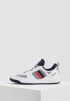 Кроссовки, Polo Ralph Lauren, цвет  белый. Артикул  PO006AWYYY21. Спорт   73933b887f9