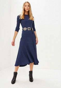 Платье, Polo Ralph Lauren, цвет: синий. Артикул: PO006EWCAJS3. Одежда / Платья и сарафаны