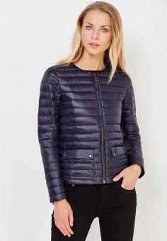 Пуховик, Polo Ralph Lauren, цвет: синий. Артикул: PO006EWUIJ71. Одежда / Верхняя одежда / Пуховики и зимние куртки