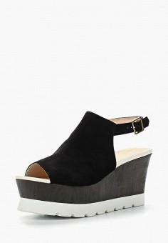 Босоножки, PrimaDonna, цвет: черный. Артикул: PR759AWVII27. Обувь / Босоножки