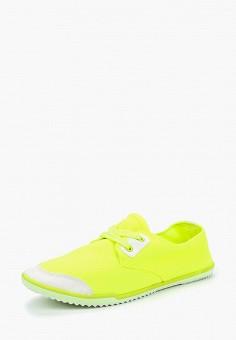 Кеды, PTPT, цвет: желтый. Артикул: PT001AWBMRM0. Обувь / Кроссовки и кеды / Кеды