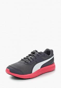 Кроссовки, PUMA, цвет: серый. Артикул: PU053AUAMWU2. Обувь