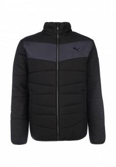 c30221eeba6c Куртка утепленная, PUMA, цвет  черный. Артикул  PU053EMFWB06. Спорт   Спорт