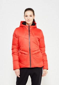 Пуховик, PUMA, цвет: красный. Артикул: PU053EWUTI86. Одежда / Верхняя одежда / Пуховики и зимние куртки