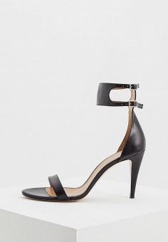 Босоножки, Pura Lopez, цвет: черный. Артикул: PU761AWAQGI9. Premium / Обувь / Босоножки