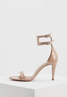 Босоножки, Pura Lopez, цвет: бежевый. Артикул: PU761AWAQGJ0. Premium / Обувь / Босоножки