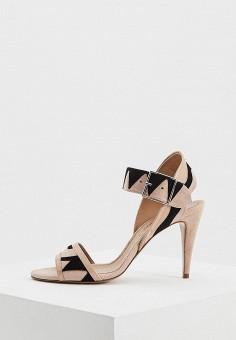 Босоножки, Pura Lopez, цвет: бежевый. Артикул: PU761AWAQGJ2. Premium / Обувь / Босоножки