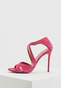 Босоножки, Pura Lopez, цвет: розовый. Артикул: PU761AWAQGJ9. Premium / Обувь / Босоножки