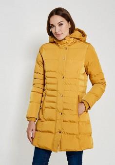 Куртка утепленная, QED London, цвет: оранжевый. Артикул: QE001EWYXR28. Одежда / Верхняя одежда