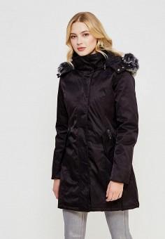 Куртка утепленная, QED London, цвет: черный. Артикул: QE001EWYXR50. Одежда / Верхняя одежда