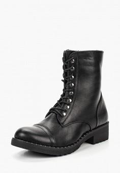 Ботинки, Queen Vivi, цвет: черный. Артикул: QU004AWCBES1. Обувь