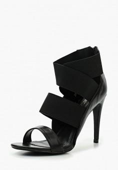 Босоножки, Queen Vivi, цвет: черный. Артикул: QU004AWTMR89. Обувь