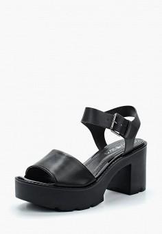 Босоножки, Ramarim, цвет: черный. Артикул: RA029AWADHY5. Обувь / Босоножки