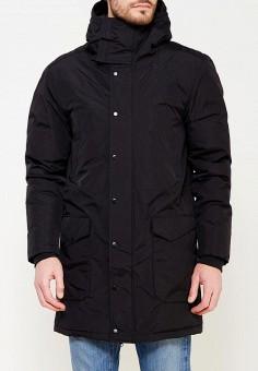 Пуховик, Reebok Classics, цвет: черный. Артикул: RE005EMUOT67. Одежда / Верхняя одежда / Пуховики и зимние куртки