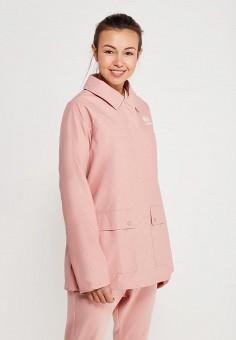 Куртка, Reebok Classics, цвет: розовый. Артикул: RE005EWALIW1. Одежда / Верхняя одежда / Легкие куртки и ветровки