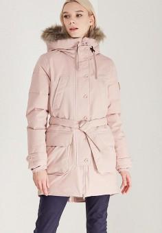 Куртка утепленная, Reebok Classics, цвет: розовый. Артикул: RE005EWZPU27. Одежда / Верхняя одежда