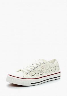 Кеды, Renda, цвет: белый. Артикул: RE031AWAZUG6. Обувь / Кроссовки и кеды / Кеды