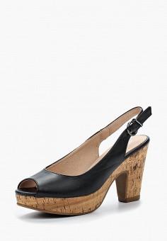Босоножки, Renda, цвет: черный. Артикул: RE031AWBIUW1. Обувь / Босоножки