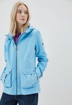 Куртка, Regatta, цвет: голубой. Артикул: RE036EWAXAF6. Одежда / Верхняя одежда / Легкие куртки и ветровки