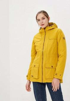 Куртка утепленная, Regatta, цвет: желтый. Артикул: RE036EWCBWX1. Одежда / Верхняя одежда / Демисезонные куртки