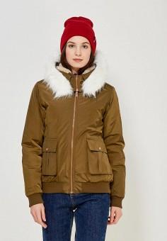 Куртка утепленная, Regatta, цвет: хаки. Артикул: RE036EWWNA80. Одежда / Верхняя одежда / Демисезонные куртки
