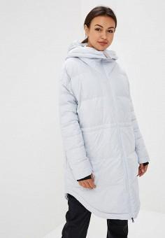 Пуховик, Reebok, цвет: серый. Артикул: RE160EWCDNV6. Одежда / Верхняя одежда / Зимние куртки
